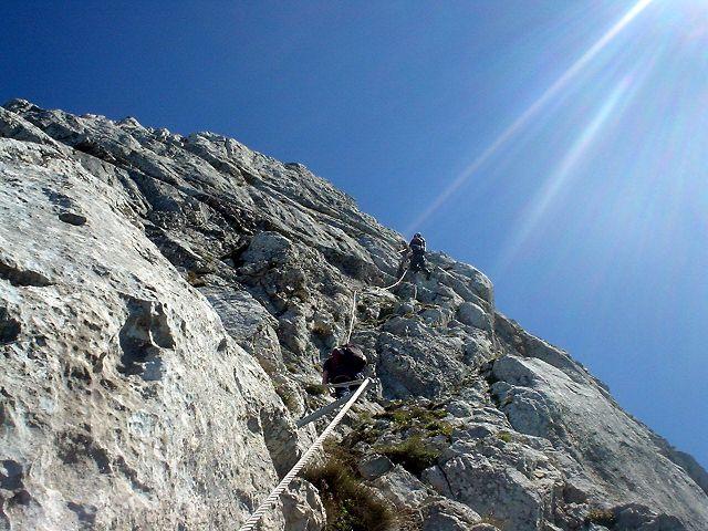 Eisenerzer Klettersteig : Pfaffenstein
