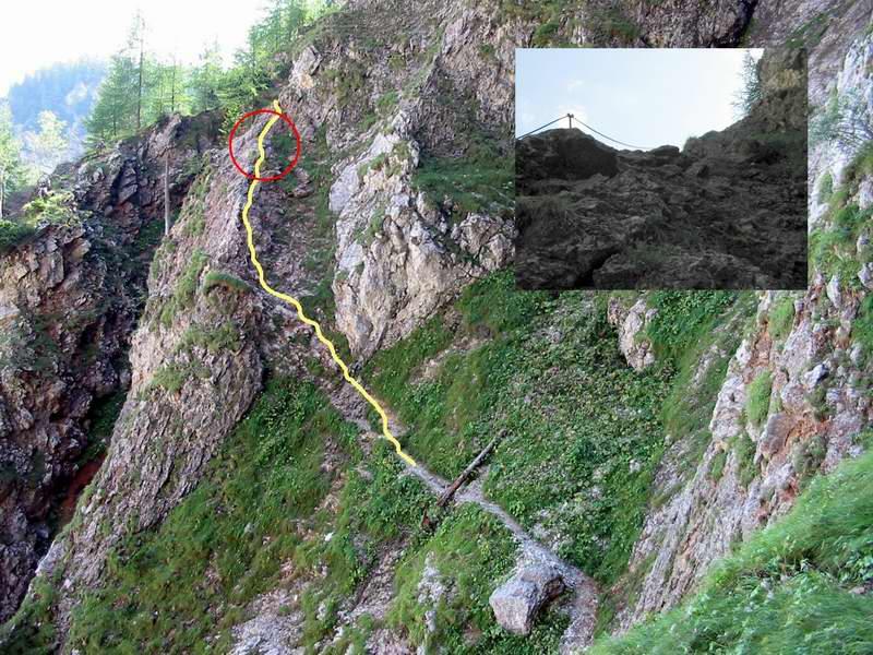 Klettersteig Rax : Klettersteige rax
